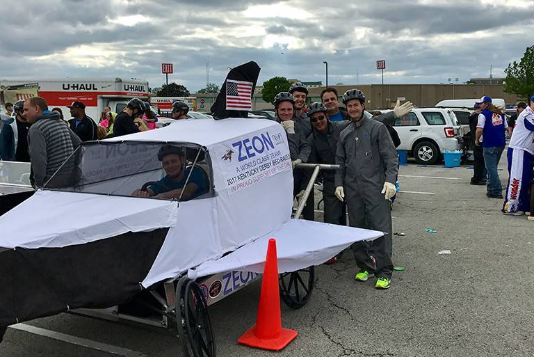 ZEON at The Louisville Bed Races